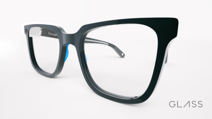 Sourcebits Hipster Google Glass Side