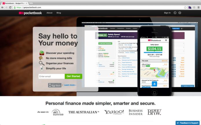 Pocketbook Web App