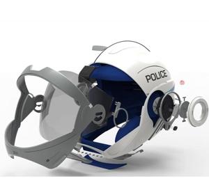 Forcite Police Helmet UNSW