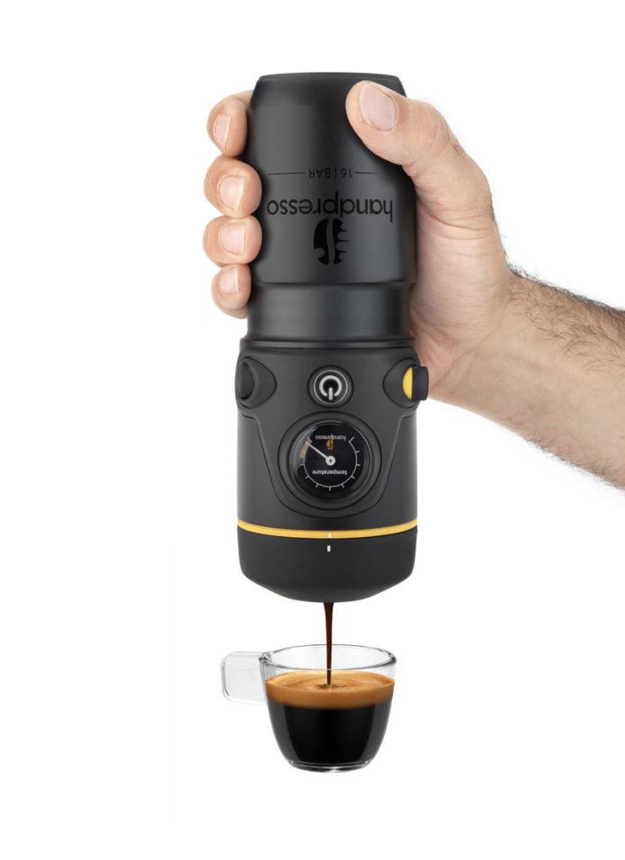 Handpresso in operation