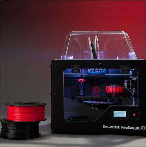 Makerbot 2X - Credit Makerbot.com