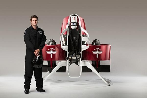 Martin Jetpack - Pilot