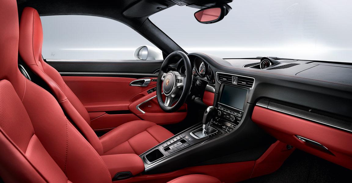 Porsche Turbo S Interior - Credit Porsche Australia