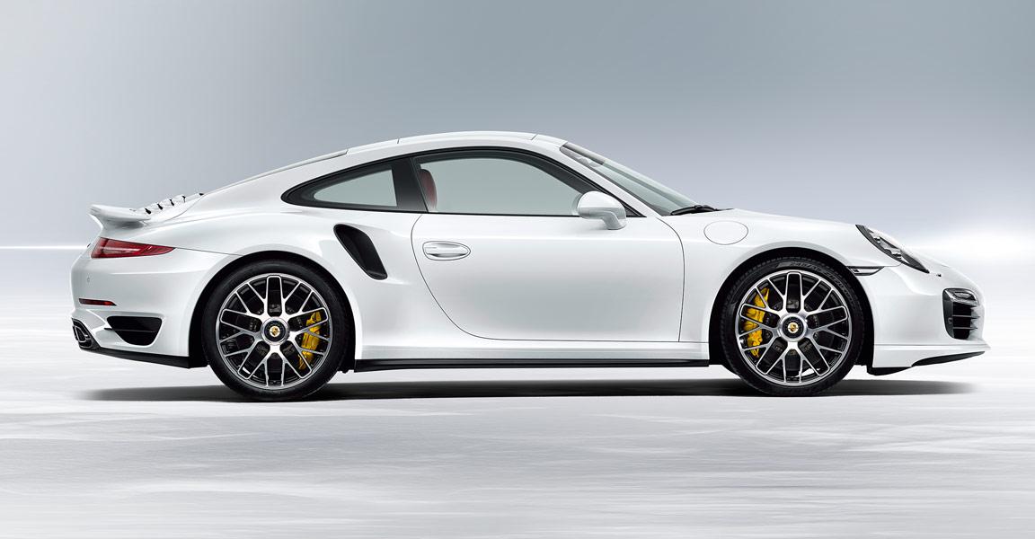 Porsche Turbo S Side - Credit Porsche Australia