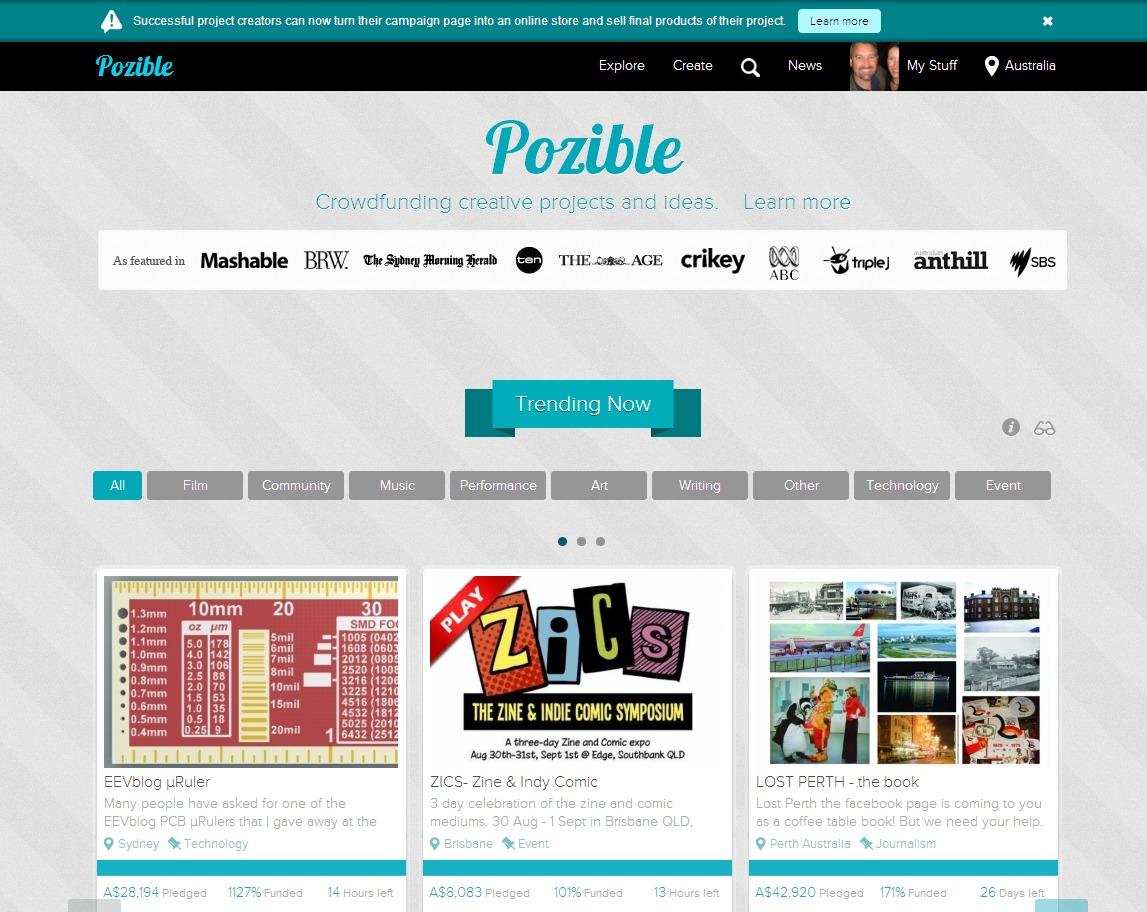 Pozible.com