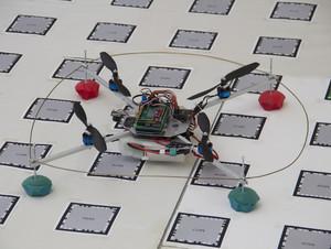 Autonomous Quadcopter - Credit Vienna University of Technology