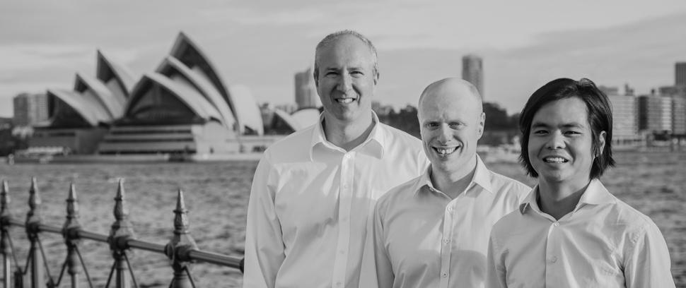 Sydney Seed Fund Team Garry, Ari and Ben