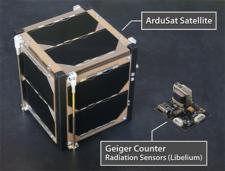 Ardusat launches Libelium Sensor into Space - Credit http://www.libelium.com/