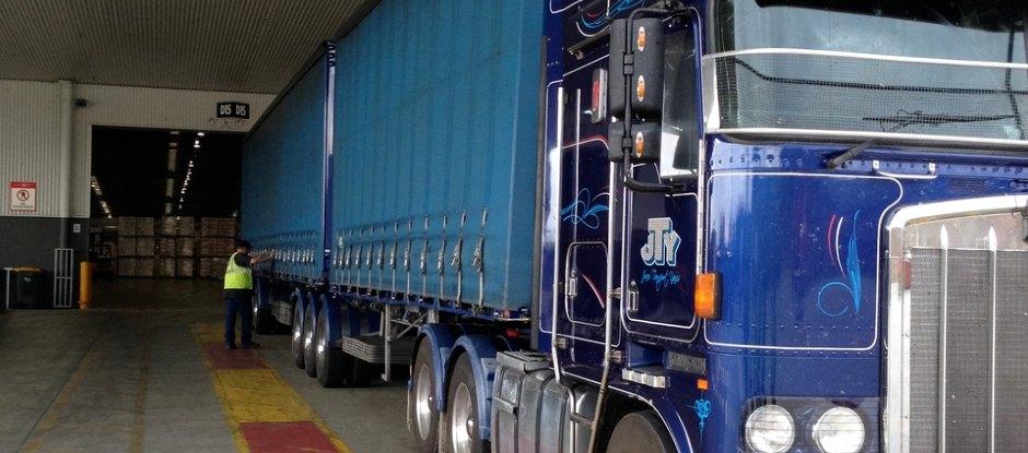 Coke trucks deliver to upto 40 customers per day