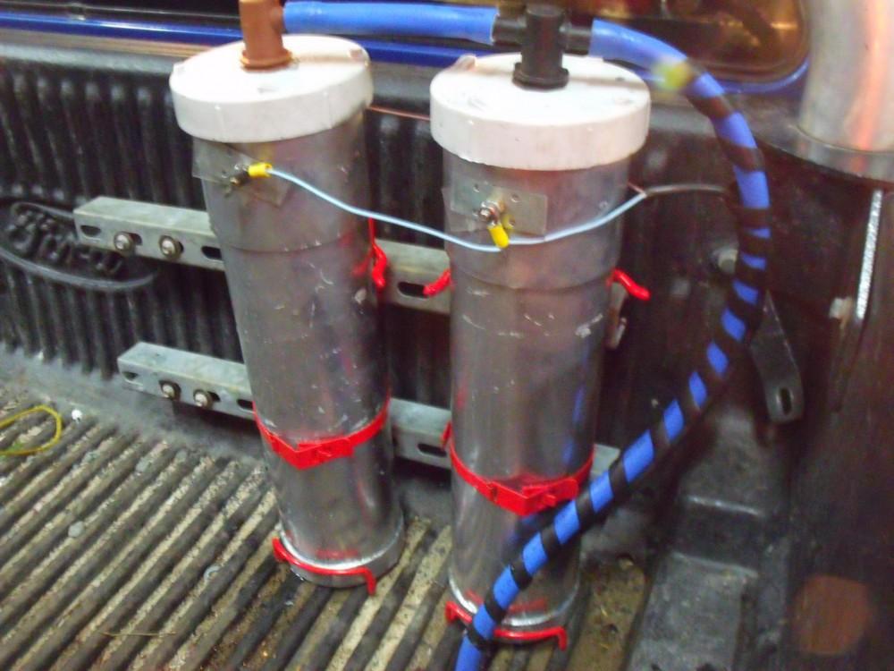 Hawkesbury Hydrogen Cylinders stainless steel