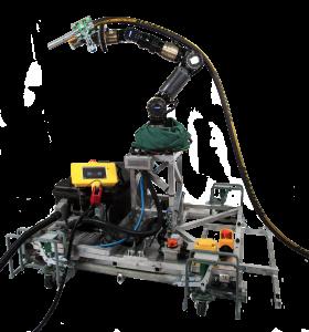 Grid-blaster robotic system