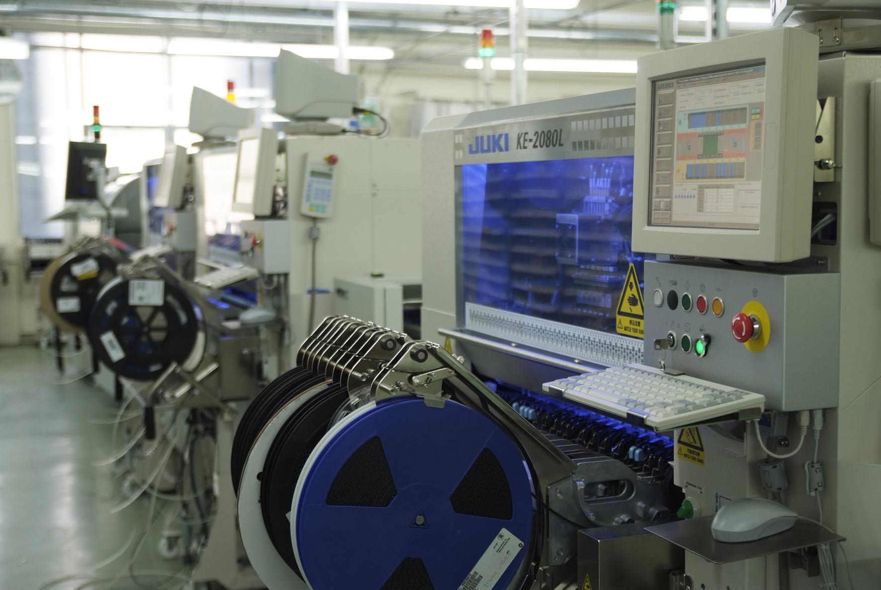 English: SMT placement machine Juki KE-2080L a...