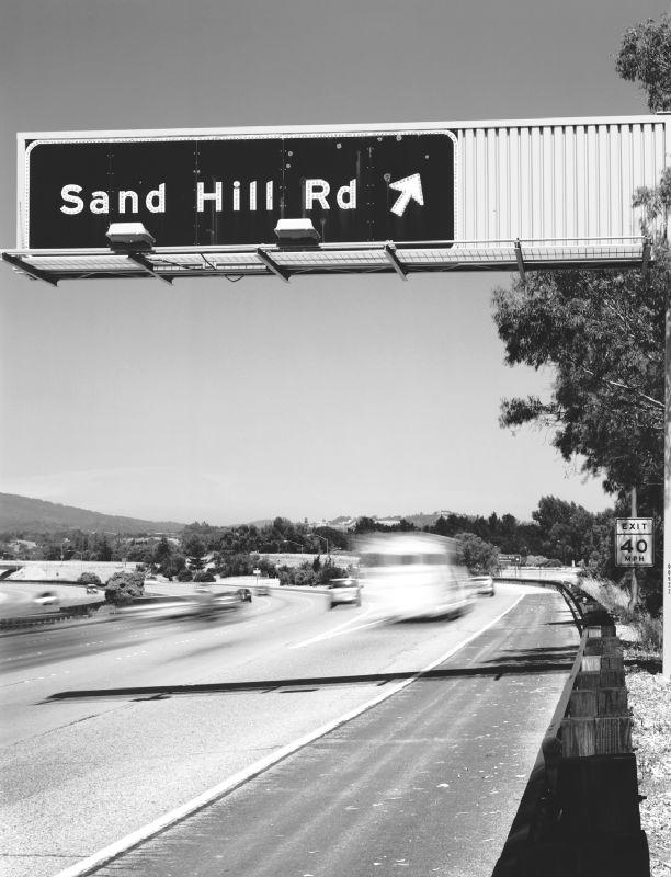 Sand Hill Road - Credit Mark Coggins wikipedia