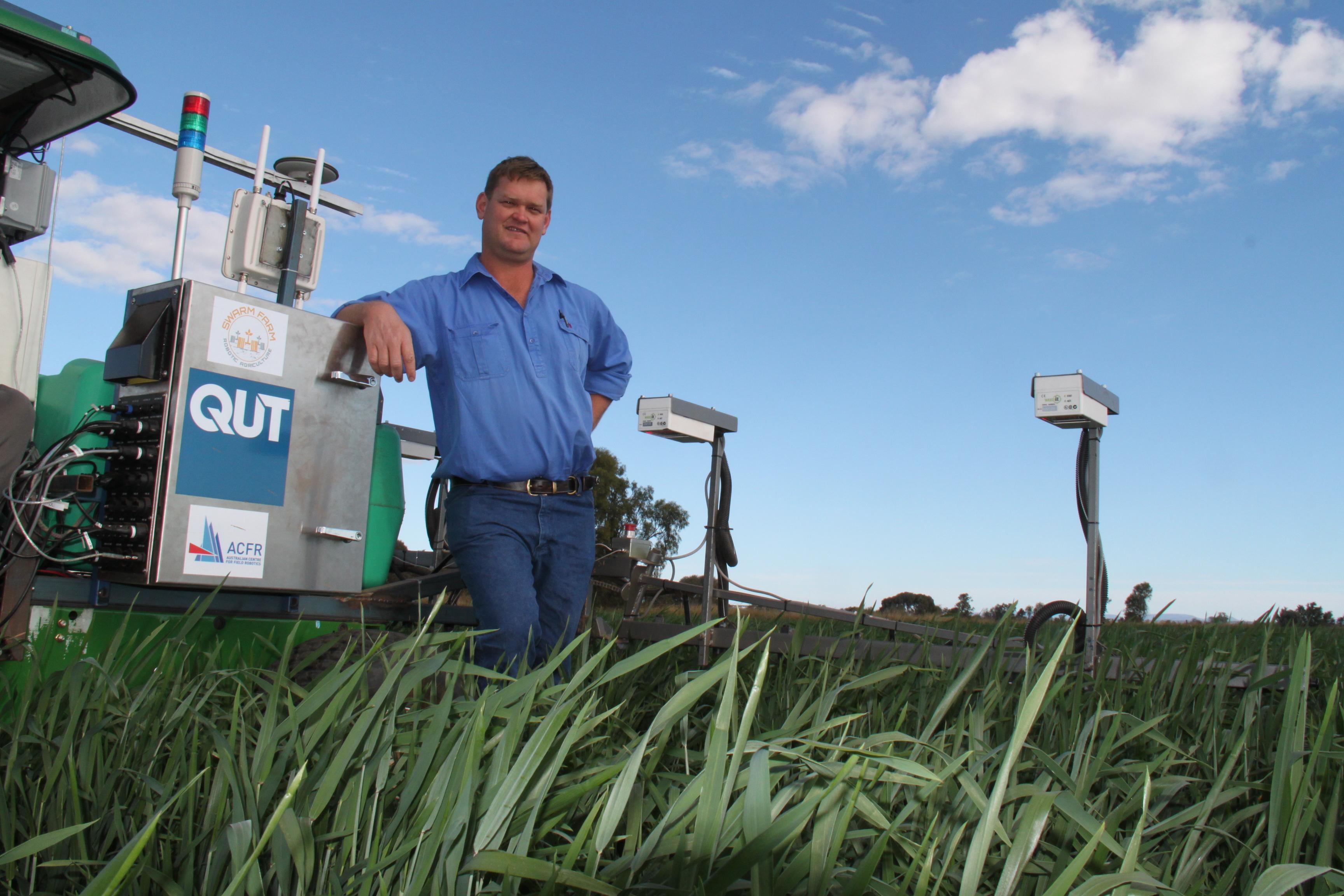 Andrew Bate & AgBot - Swarmfarm