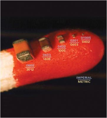 Resistors on Match Head - http://www.indium.com/