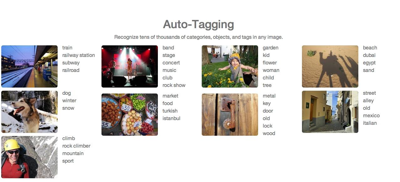 Clarifai-Autotagging