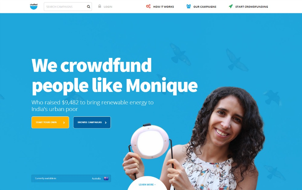 Chuffed Crowdfunding for Charity & Social Causes