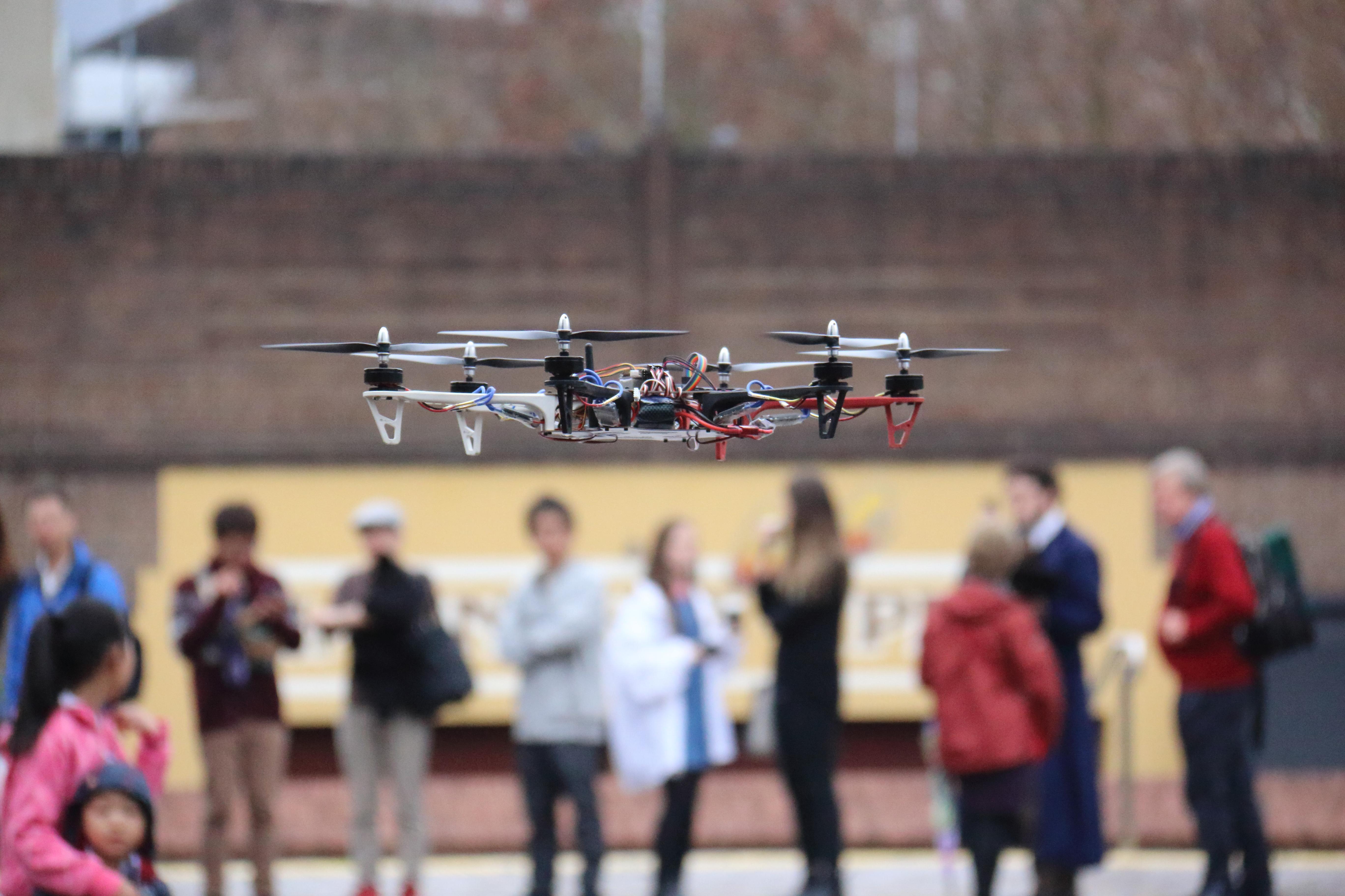 Hexacopter at Maker Faire
