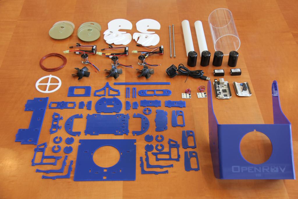 OpenROV Parts Breakdown