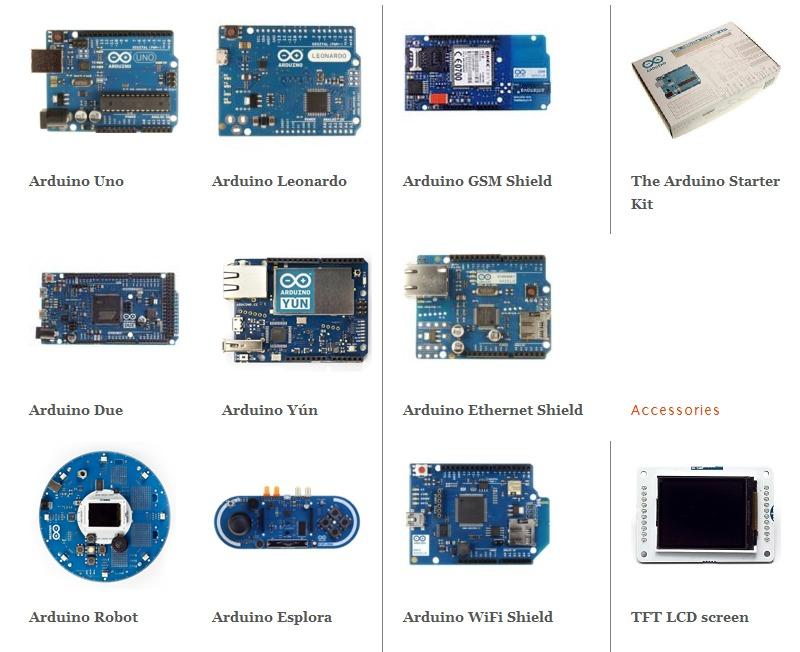 Arduino-models