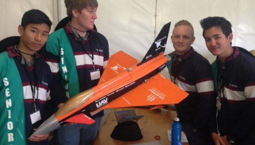 UAV Outback Challenge – Photos – High School Students Airborne Delivery Competition