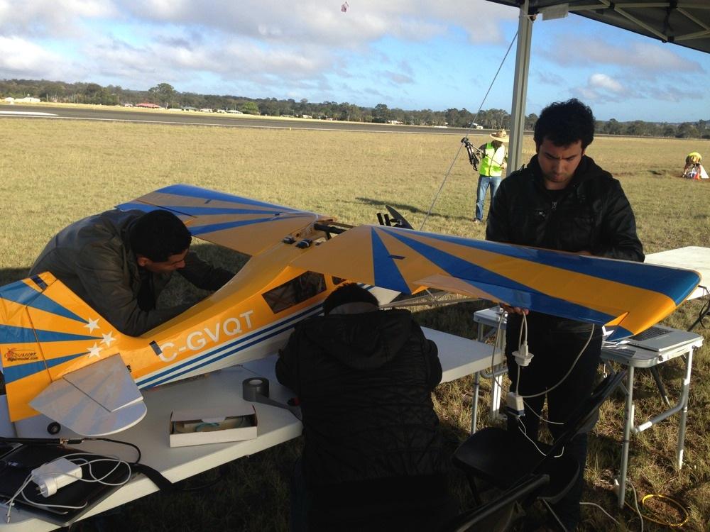 Team-Condor-Preparing