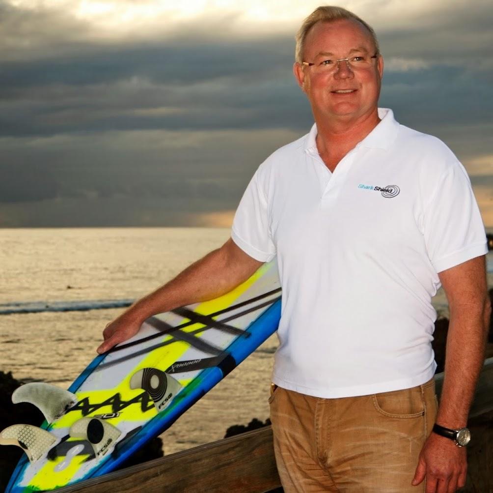 Shark Shield Chairman Lindsay Lyon