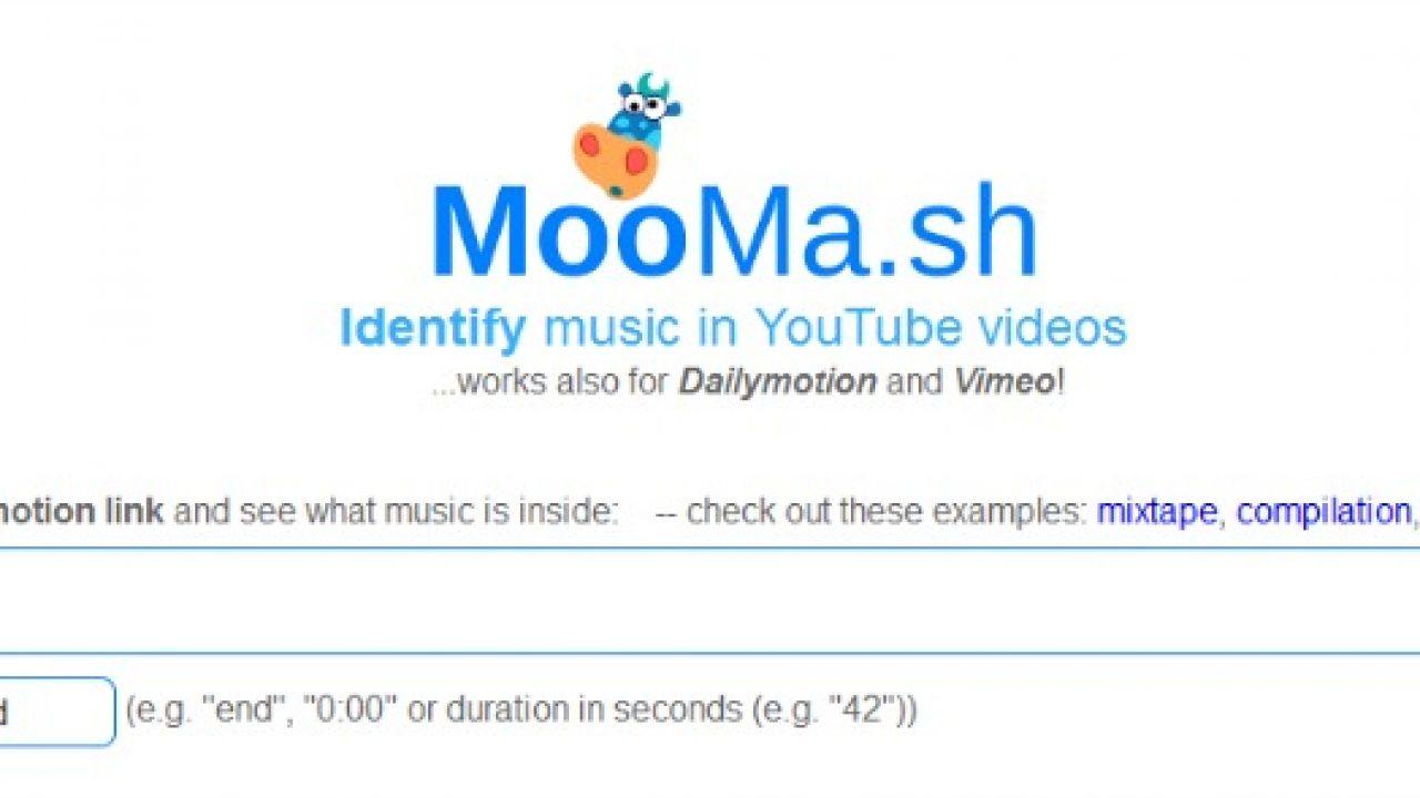 Moomash Shazam For Youtube