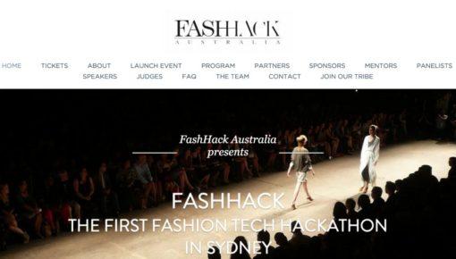 FashHack – The Fashion Hackathon – @Fishburners – Sydney – 19-21 June 2015