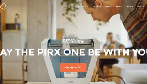 PIRX one – 3D Printer with Self Levelling Print Platform