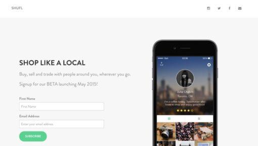 Shufl – Sharing Economy App? Whatever.