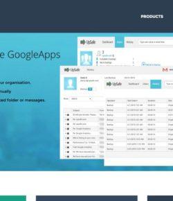Upsafe – Google Apps Backup and Data Security Service