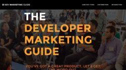 The Developer Marketing Guide for Startups