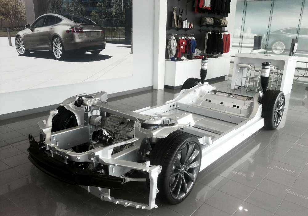 Tesla-chassis