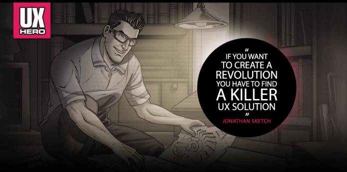 UX Hero Comics