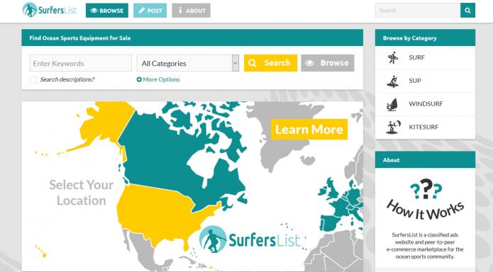 SurfersList