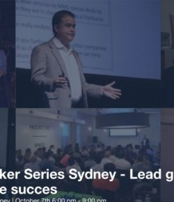 Lead generation for pipeline success – Event – Sydney –  7th Oct 2015