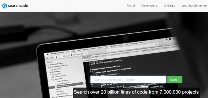 Searchcode server